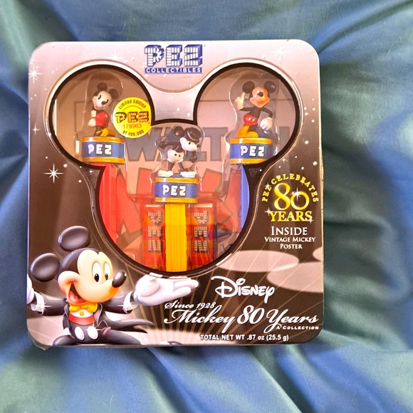 Mickey mouse pez collection